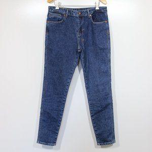 Ksubi Spray On Berlin Blue Mid Rise Skinny Jeans